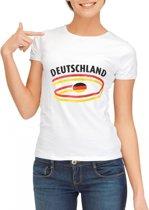 Deutschland t-shirt voor dames M