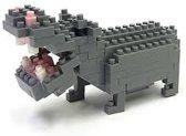 Nanoblock Hippopotamus NBC-049 (nijlpaard)