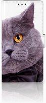 Leuk Hoesje Kat voor de Sony Xperia XA1 Ultra
