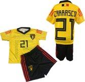 BELGIE - Carrasco 21 - Set Shirt & Broek - Size 4 jaar - Geel