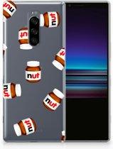 Sony Xperia 1 Uniek TPU Hoesje Nut Jar