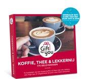 GiftForYou Cadeaubon - Koffie, Thee en Lekkernij