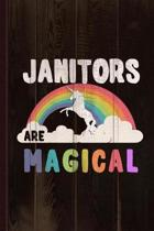 Janitors Are Magical Journal Notebook
