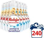 Robijn Jasmijn & Sandelhout Wasverzachter - 8 x 750 ml