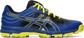Asics Sportschoenen - Maat 44.5 - Mannen - zwart/blauw/geel