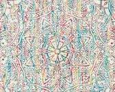 GRAFISCHE ORNAMENTEN BEHANG - Blauw Groen - AS Creation Boho Love