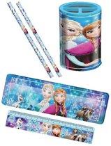 Disney Schrijfset Frozen 5-delig Blauw
