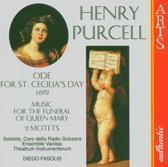 Purcell: Ode For St. Cecilia's Day, etc / Fasolis, et al
