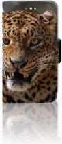Huawei Y360 Uniek Boekhoesje Luipaard Met Opbergvakjes