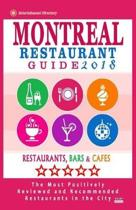 Montreal Restaurant Guide 2018
