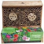 Buzzy Tuinkadootjes Buzzy® Insecten Hotel Nestkast + Kweekpotjes