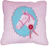 Taftan Decoratief kussenhoesje Kussenhoes paard