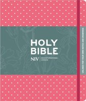 NIV journaling Bible Pink/Polka HC