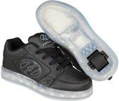 Heelys Rolschoenen Premium Lo  - Sneakers - Kinderen - LED lichtjes - Oplaadbaar - Maat 39 - Zwart/Grijs