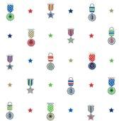 Lief! - Vliesbehang - Medailles - Meerkleurig - 1005x52 cm