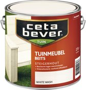 Cetabever Tuinmeubelbeits - White Wash - 2,5 liter