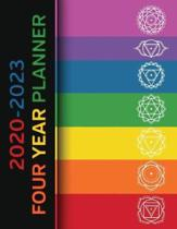 2020 - 2023 Four Year Planner: Chakra Power Monthly Calendar, Planner, Notebook and More!