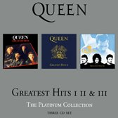 CD cover van Greatest Hits: I II & III: The Platinum Collection van Queen
