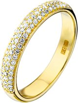 The Jewelry Collection Ring Diamant 0.25 Ct. - Geelgoud