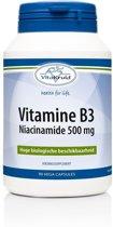 Vitakruid Vitamine b3 niacinamide 500 mg Voedingssuplement - 90 vega capsules