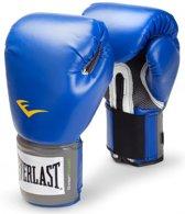Everlast Velcro Pro Style Bokshandschoenen  Vechtsporthandschoenen - Unisex - blauw/grijs