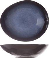 Cosy & Trendy Sapphire Diep Bord-Schaal - Ovaal - 19.5 cm x 16.5 cm - Set-4