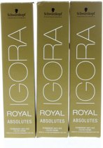 Schwarzkopf Professional Igora Royal Absolutes Permanent Anti-age Color Creme Haarverf 4-90 60ml