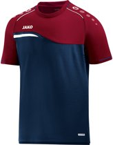 Jako Competition 2.0 T-Shirt - Voetbalshirts  - blauw donker - M