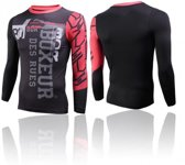 Boxeur Long Sleeves Round Neck - Red-L