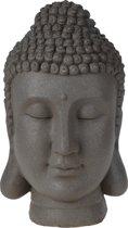 Boeddha hoofd in beton