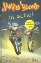 Boek cover James Blond - In actie! van Fred Diks (Hardcover)