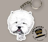 Sleutelhanger Hond West Highland White Terrier