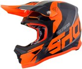 Shot Kinder Crosshelm Furious Ultimate Black/Neon Orange-M