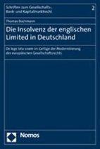 Die Insolvenz Der Englischen Limited in Deutschland