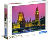 Clementoni - High Quality Collection puzzel - London - 500 stukjes