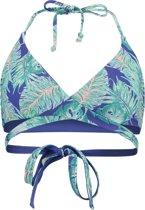 O'Neill Bikinitopje Reversible wrap around - Blue Aop W/ Green - 38