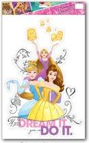 Disney Decoratiesticker Princess 48 X 29 Cm