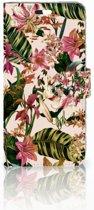 Huawei P10 Plus Uniek Boekhoesje Flowers