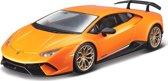Modelauto Lamborghini Huracan Performante oranje 1:24 - speelgoed auto schaalmodel
