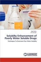 Solubilty Enhancement of Poorly Water Soluble Drugs