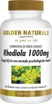 Golden Naturals Rhodiola 1000 mg (60 tabletten)