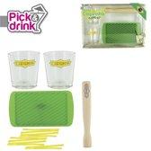 Pick & Drink Caipirinha set