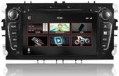 DVN7Fob  Navigatie Ford FORD MONDEO, GALAXY, FOCUS, S-MAX dvd parrot carkit usb dab+