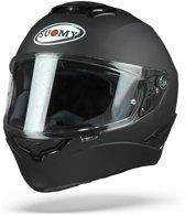 Suomy Stellar Plain Mat Zwart Integraalhelm - Motorhelm - Maat XL