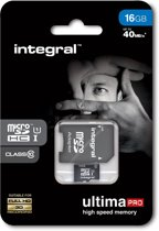 Integral UltimaPro 16GB - Micro SDHC Geheugenkaart