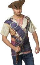 Shirt piraat voor volwassenen