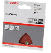 Bosch Schuurvel delta wood and paint K60 blister van 5 vellen