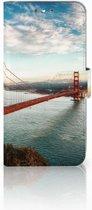Wiko Wim Boekhoesje Design Golden Gate Bridge