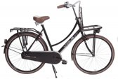 Vogue Elite - Transportfiets - Dames - Mat Zwart - 50 cm