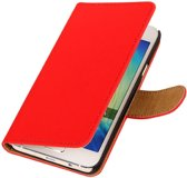 Rood Samsung Galaxy A5 2015 Book/Wallet Case/Cover